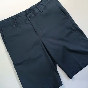 Nike   Men's Gray Golf Shorts